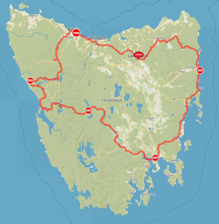 Tasmania Loop - Dot Watching Page