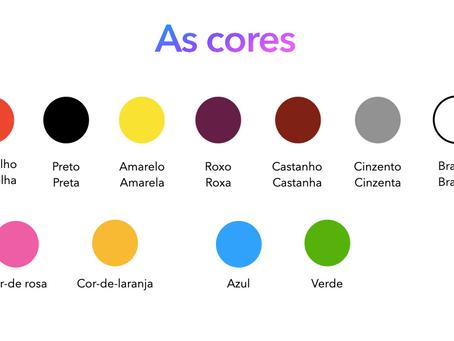Les couleurs - A1 - Adulte