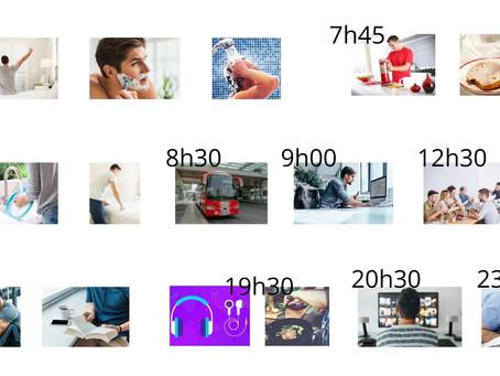 Les activités quotidiennes - A1 - Adulte