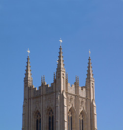St Edmusbury Cathedral tower