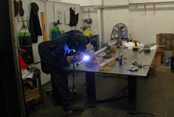 Welding up the Lance