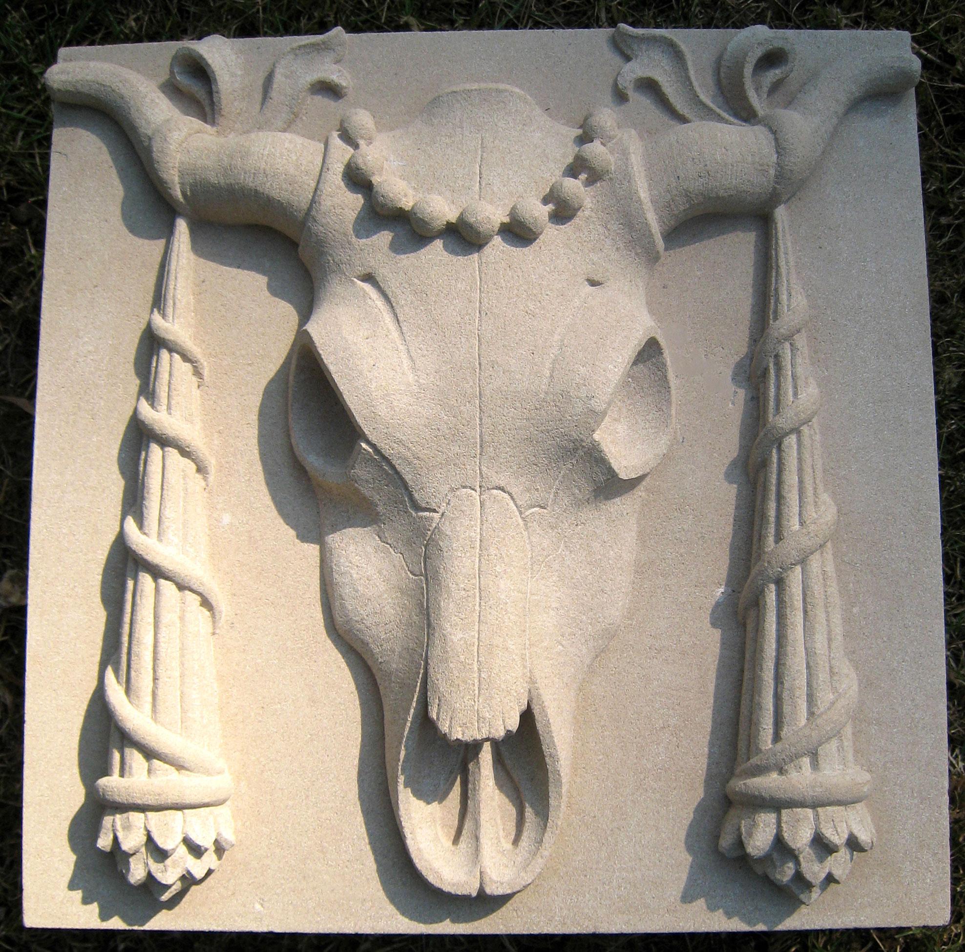 36 Classical Bulls skulls