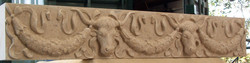 Partially carved