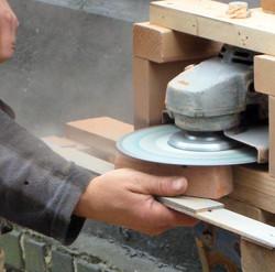 Brick depth cutting