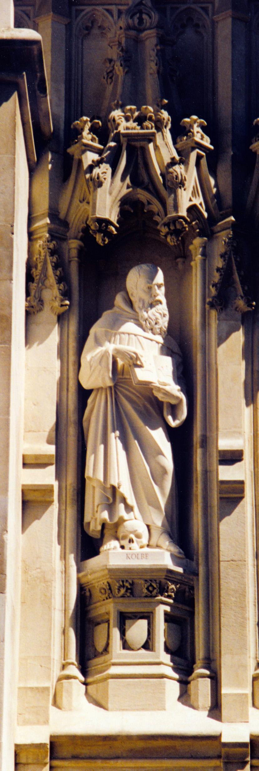 Maximilian Kolbe Westminster Abbey modern martyr