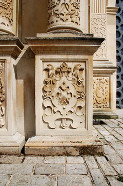 Hatfield House trophy panel