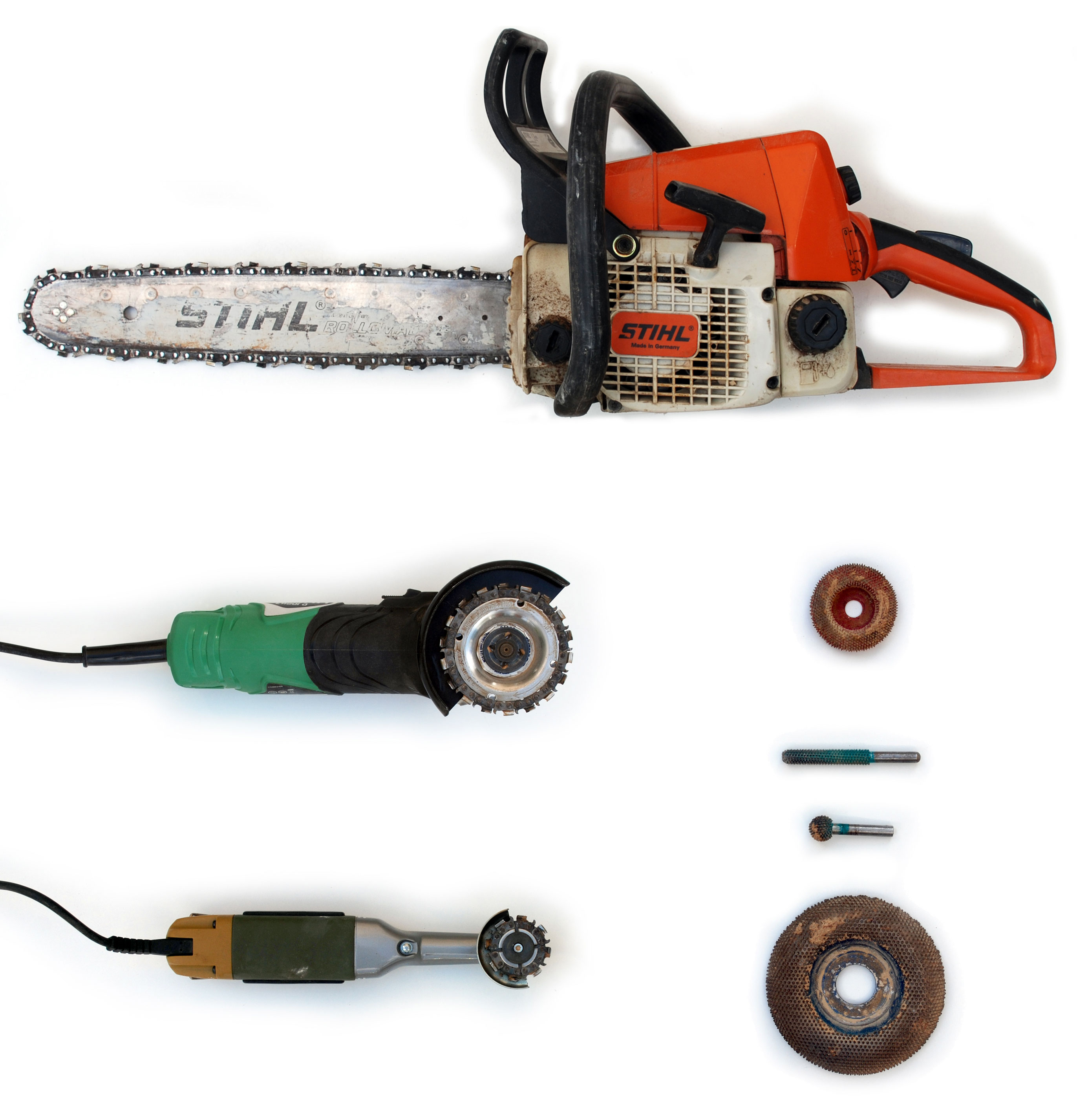 Power tools used