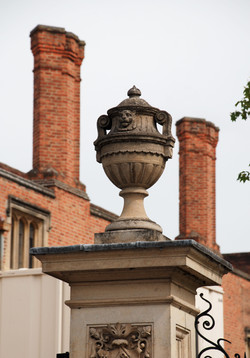 Urn on top