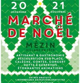 Marché de Noël à Mezin