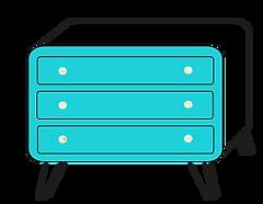 meuble en carton design
