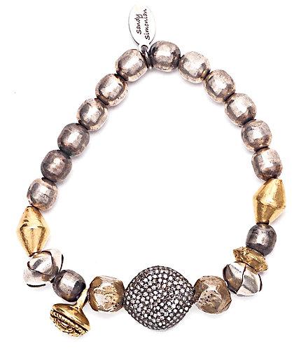 Diamond Nomadic Gypsy Bracelet