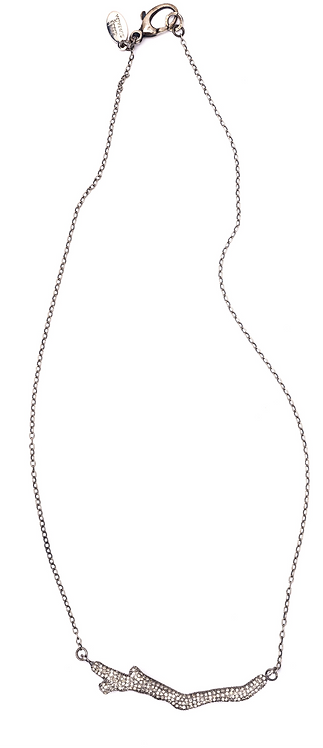 Diamond Branch Chain Necklace