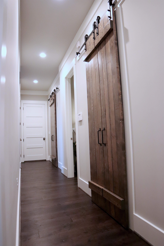 Barn Door Hallway