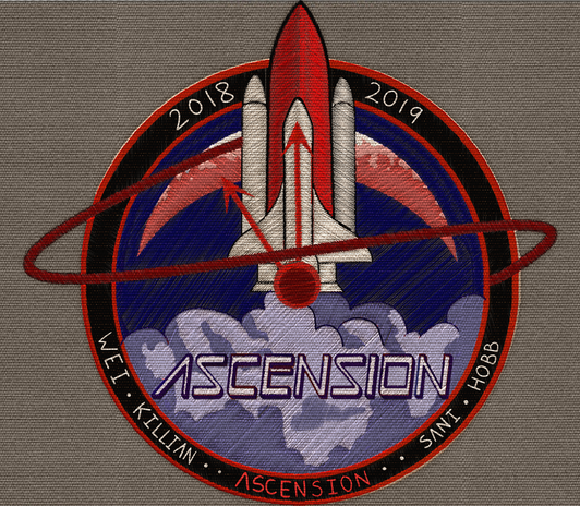The Space Shuttle Ascension Crew Patch