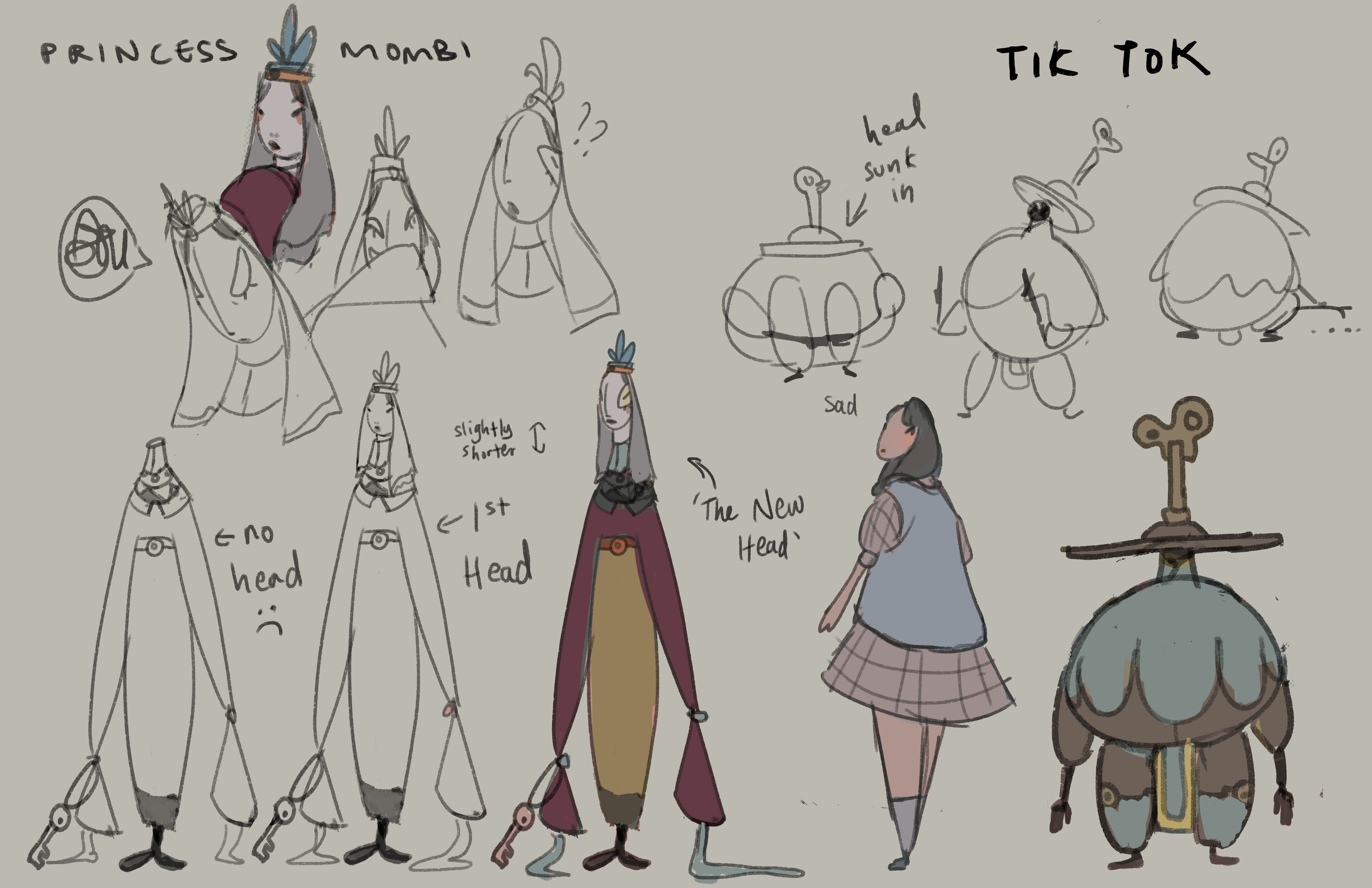 return to oz character redesign