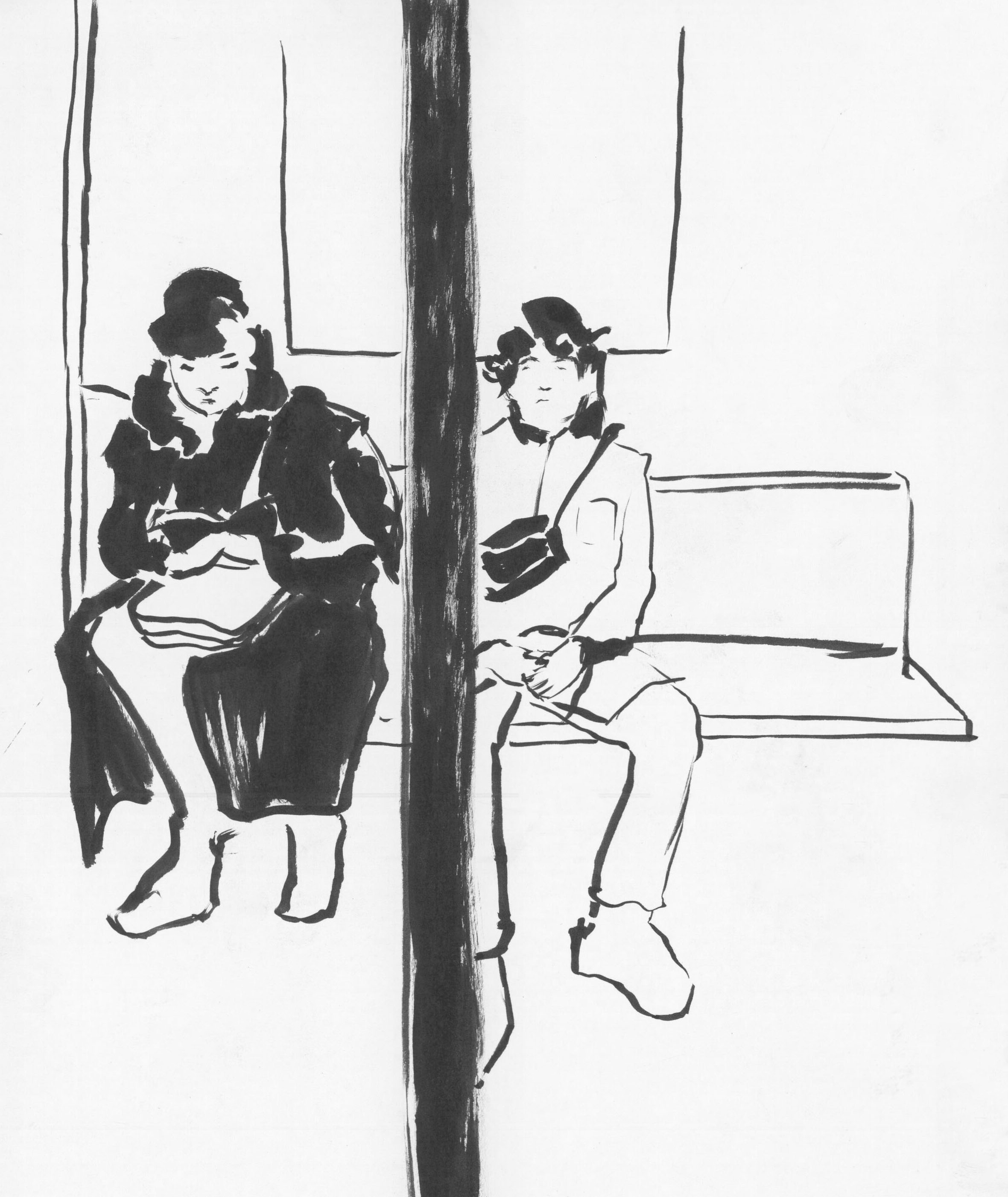 Subway Sketch 2