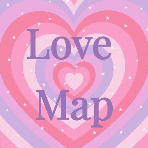 Where We Met Map Illustration