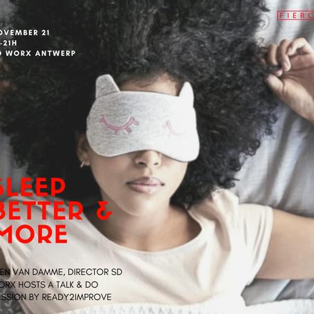 Join Fierce Ladies at SD Worx in Antwerp this November