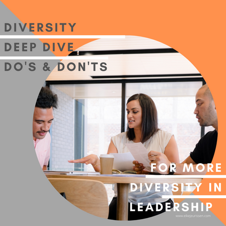 Diversity Deep Dive - book your seat for 5/6 in Antwerp