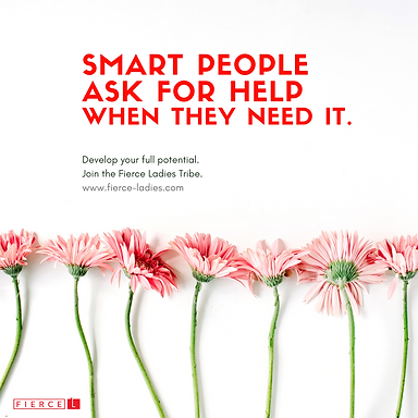 smart people ask for help when they need