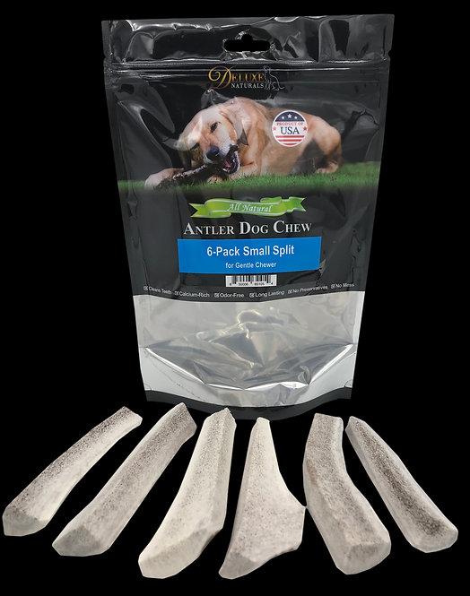 6-Pack Small Split Elk Antler Dog Chews