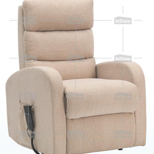 InStore Single Motor Fabric Rise & Recliner