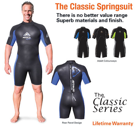 Adrenalin Aquasport Mens Springsuit