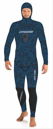 Cressi Tokugawa Skin Mens 2mm 2-Piece Freediving Wetsuit