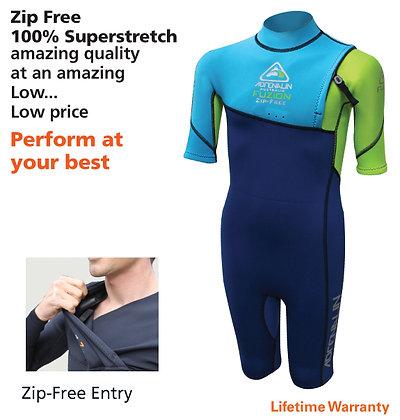 Adrenalin Fuzion Zip-Free Springsuit Junior
