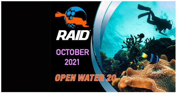Open Water 20 (Level 1) School Holidays
