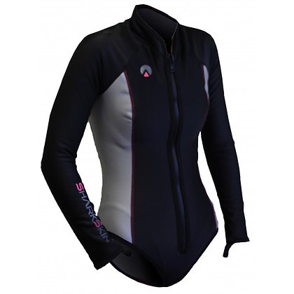 Sharkskin Chillproof Long Sleeve Step-In - Ladies