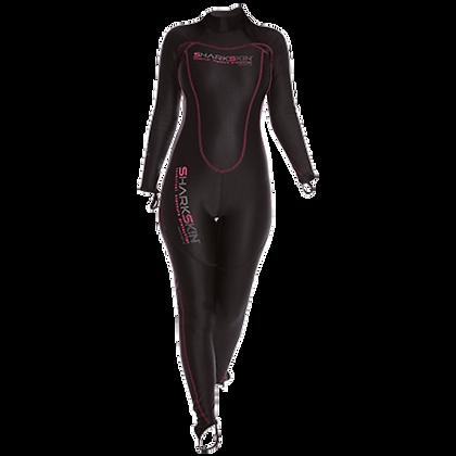 Sharkskin Chillproof 1 Piece Rear Zip Suit - Womens