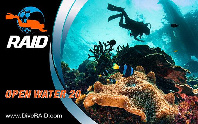 RAID Open Water 20 Voucher