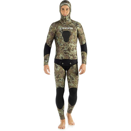 Cressi Tecnica 5mm 2-Piece Freediving Wetsuit - Mens