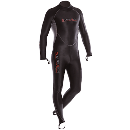 Sharkskin Chillproof Rear Zip Suit - Mens