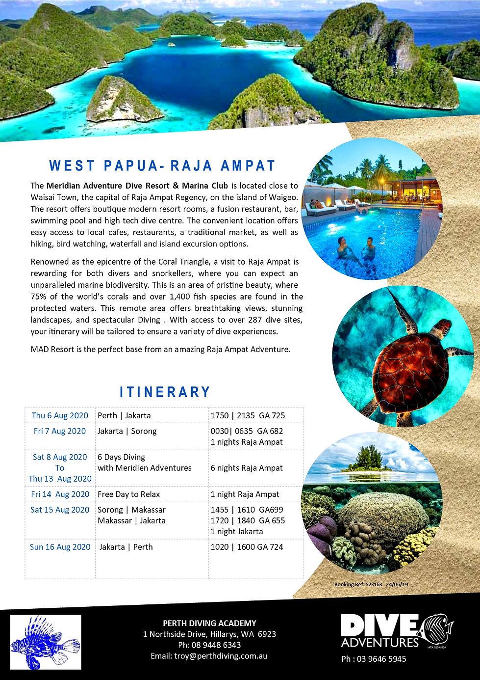 Meridien Adventures Dive Resort  - Raja