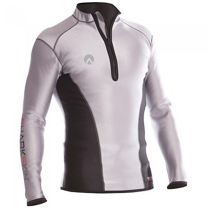 Sharkskin Chillproof Long Sleeve Chest Zip Reflective - Mens