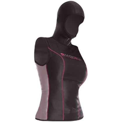 Sharkskin Chillproof Vest With Hood - Ladies