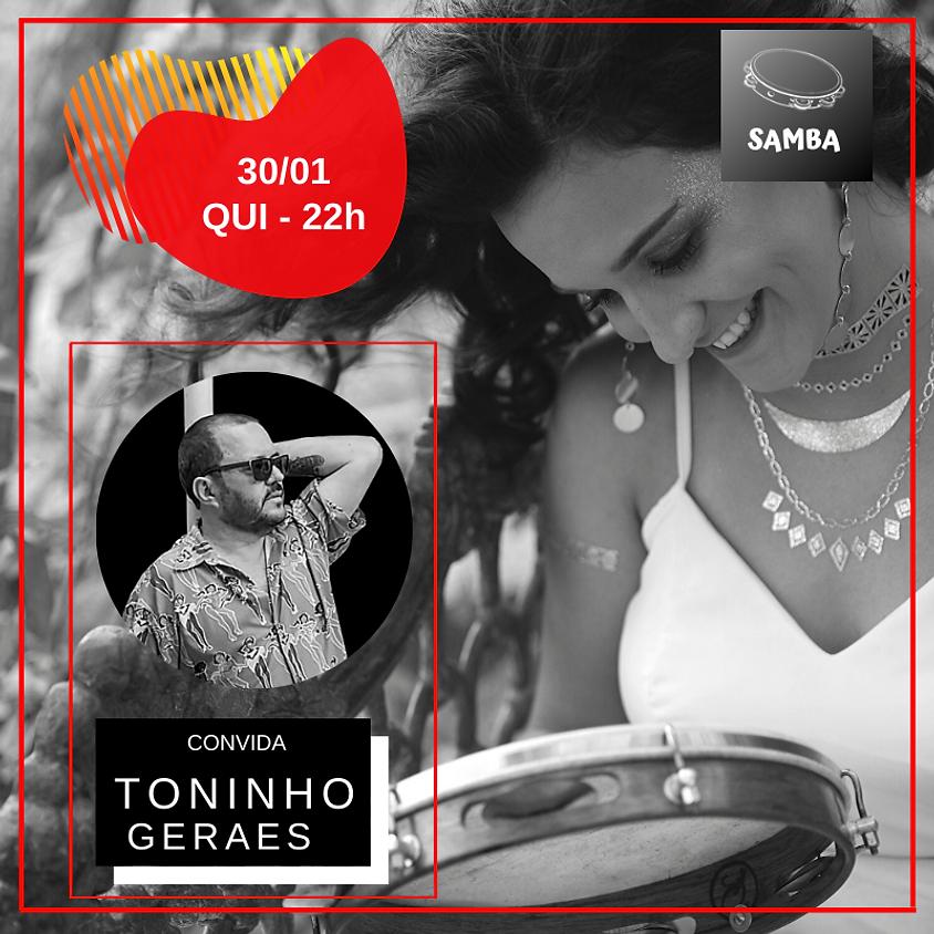 Alana Moraes convida Toninho Geraes