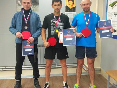 Турнир по настольному теннису среди членов СК Фитнес Град