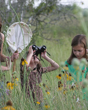 Children on Katy Prairie - photo credit