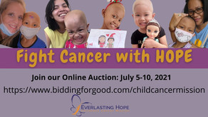 Online Auction: Fight Cancer with HOPE