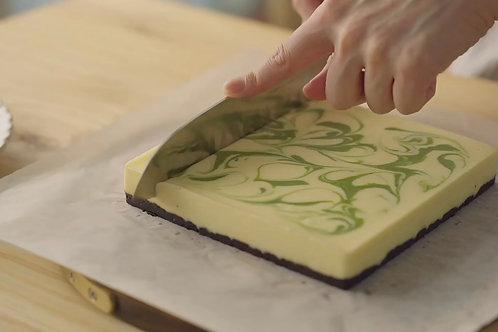 Green Tea Marble Cheese Cake