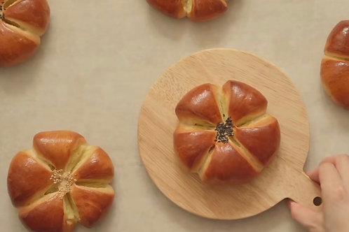 Japanese Style Sweet Potato Bread