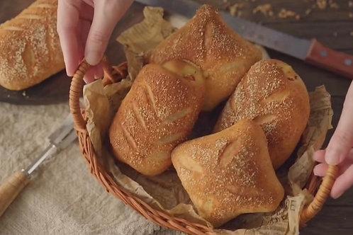 Golden Smoky Cheesy Chicken Bread
