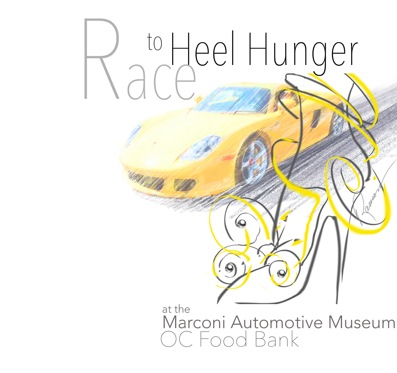 """RACE to HEEL HUNGER"""
