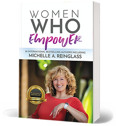 BOOK COVER-Women Who Empower by MICHELLE