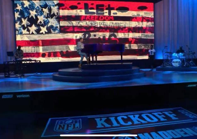 Let Freedom Ring featured in Alicia Keys