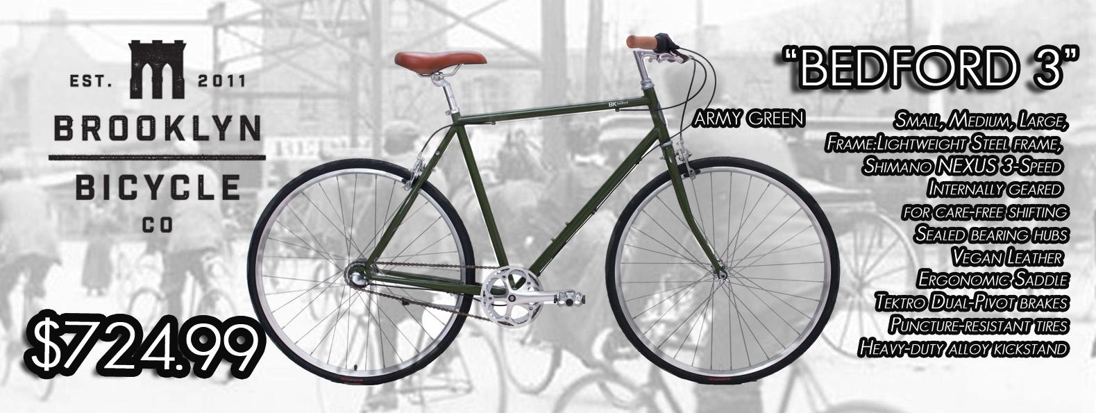 Bedford 3 Brooklyn bikes slideshow