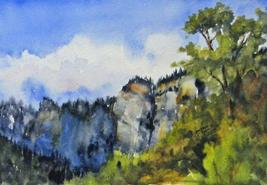 Cedar Canyon Blues  by Debbie Robb